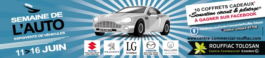 Semaine de l'auto CC Leclerc Rouffiac