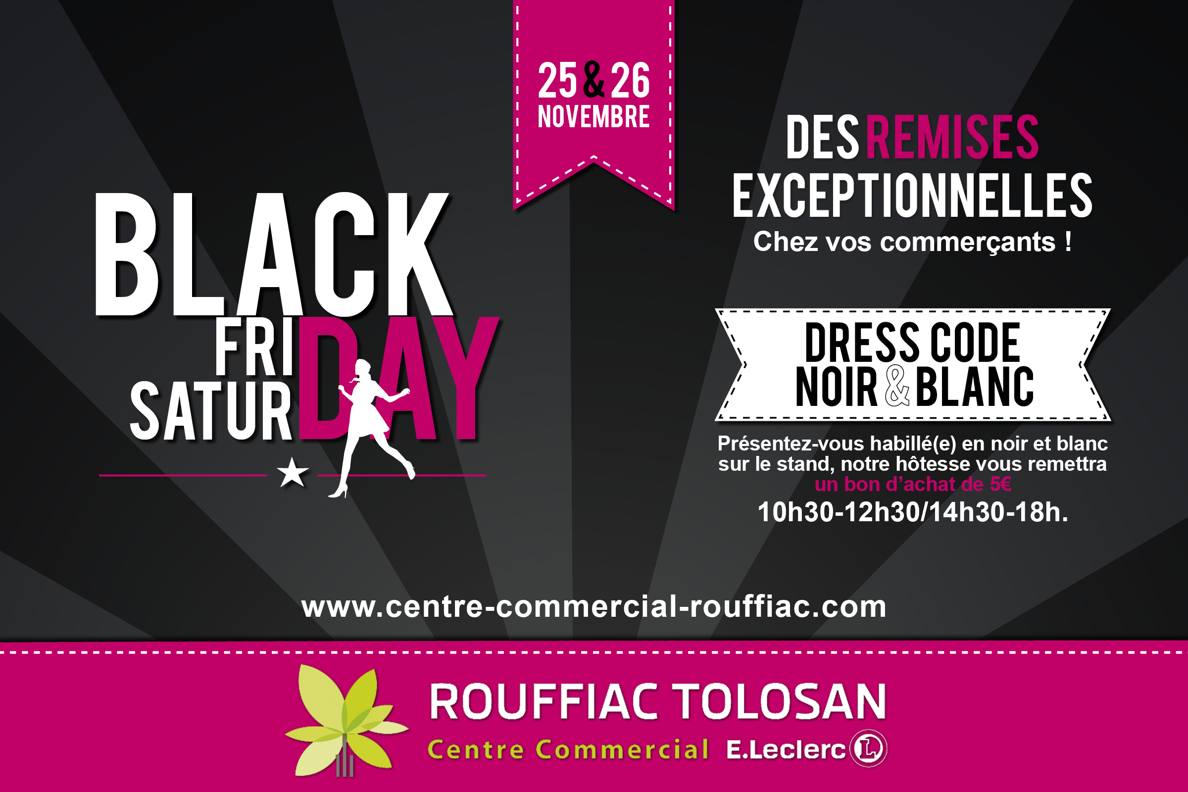 black friday Leclerc Rouffiac Toulouse