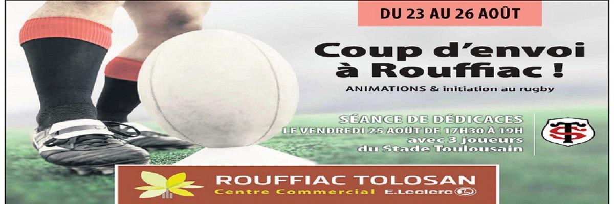 animation rugby cc Leclerc Rouffiac