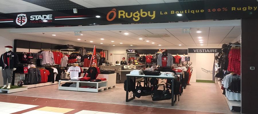 Devanture Boutique du Stade Toulousain Rouffiac