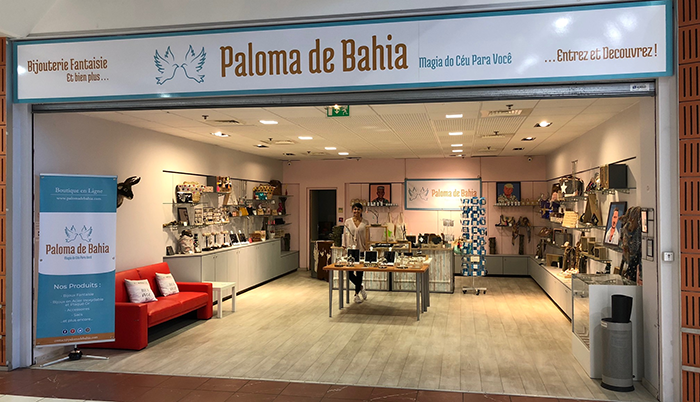Vue d'ensemble de la boutique Paloma de Bahia Rouffiac